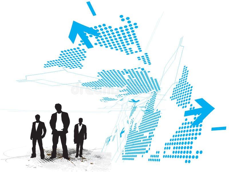 De abstracte achtergrond van de Technologie vector illustratie