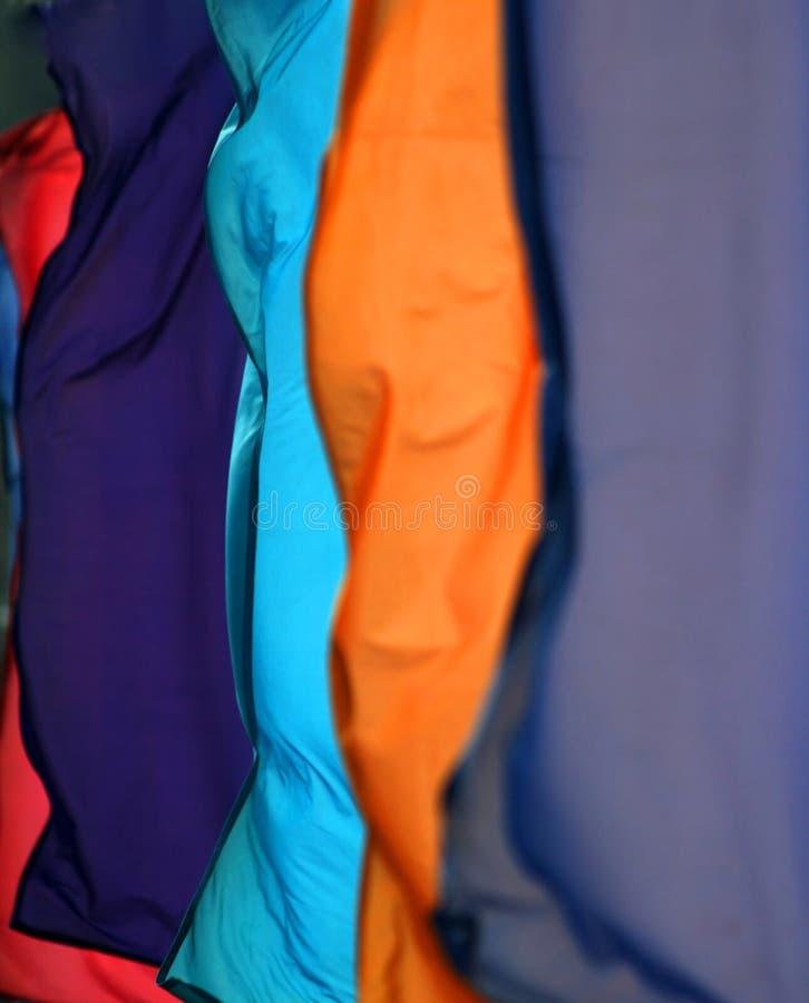 De abstracte achtergrond van de textiel stock foto