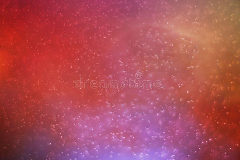 De abstracte achtergrond van de fotokleur bokeh stock foto