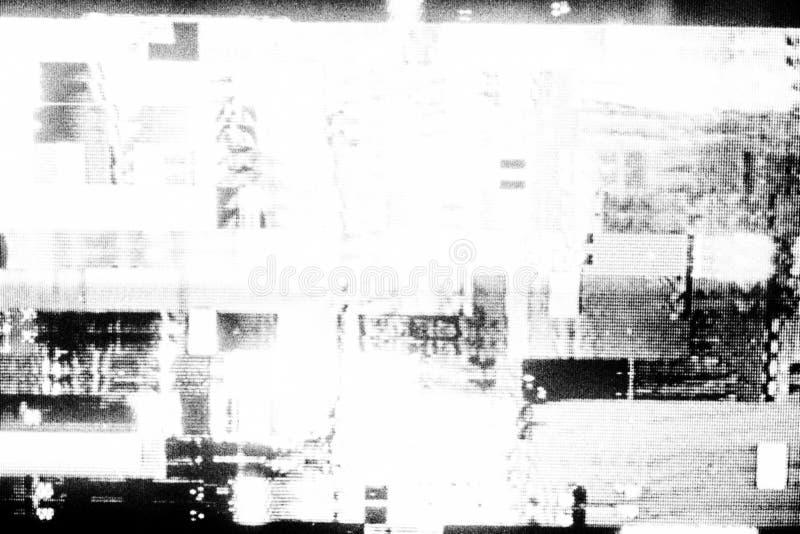 De abstracte achtergrond van de fotokopietextuur, Glitch royalty-vrije stock foto