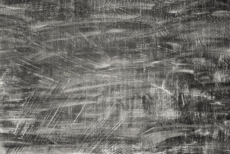 De abstracte Achtergrond van de de Gipspleistermuur van Grunge Zwarte Gestileerde textuurbanner met exemplaarruimte voor tekst stock afbeelding