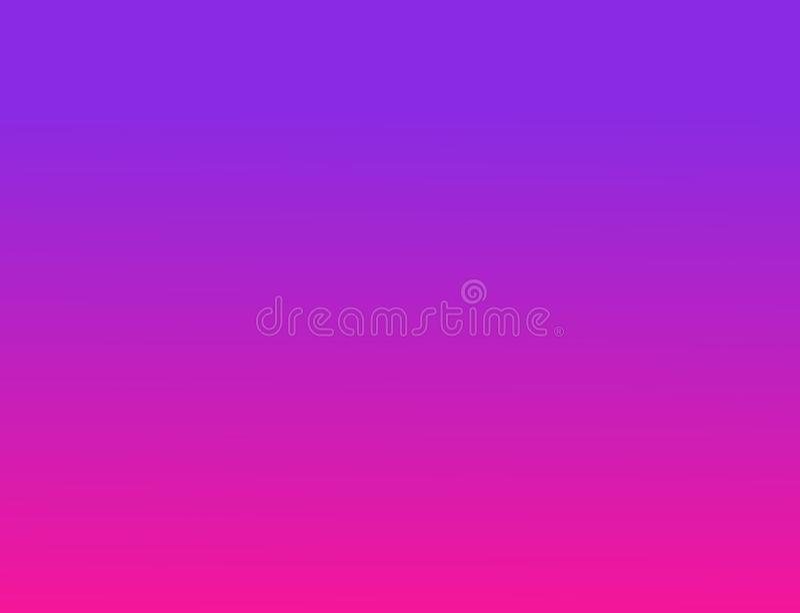 De abstracte achtergrond van de gradiënt het behang van de kleurenovergang plastic roze en proton purpere achtergrond 2019 Kleure stock illustratie