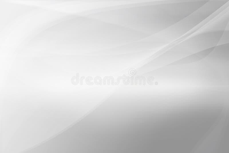 De abstracte achtergrond van Gray Silver, adreskaartjeachtergrond vector illustratie