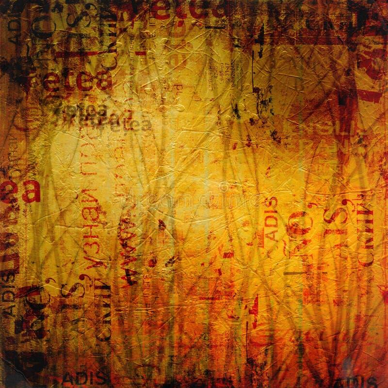 De abstracte achtergrond van Grunge vector illustratie