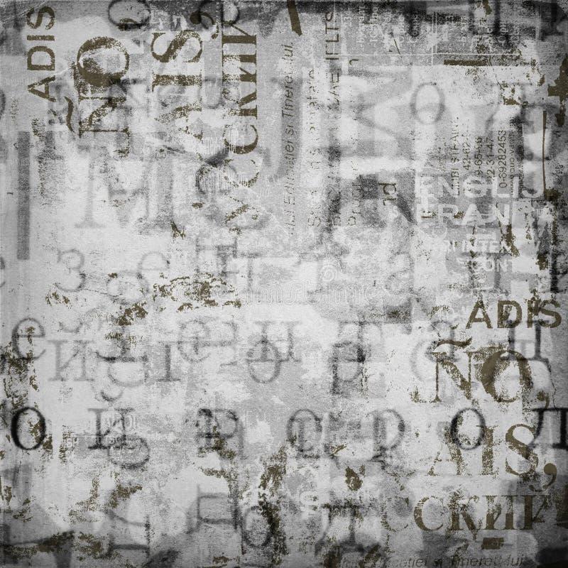 De abstracte achtergrond van Grunge stock illustratie