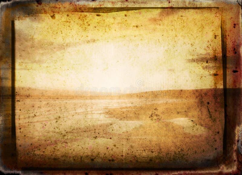 De Abstracte Achtergrond van Grunge royalty-vrije illustratie
