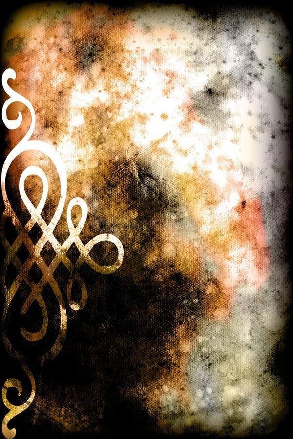 De Abstracte achtergrond van Grunge no.6 vector illustratie