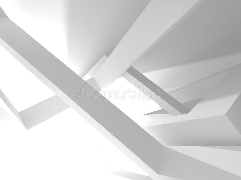 De abstracte Achtergrond van het Architectuur Moderne Ontwerp stock illustratie
