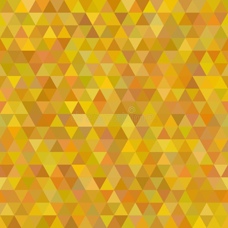 De abstracte Achtergrond van het Driehoeks Naadloze Patroon voor royalty-vrije illustratie
