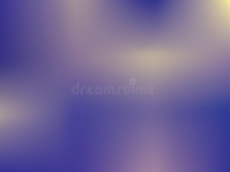 De abstracte achtergrond van het gradiëntnetwerk Vage heldere kleuren, kleurrijk regenboogpatroon Multicolored vloeibare vormen vector illustratie