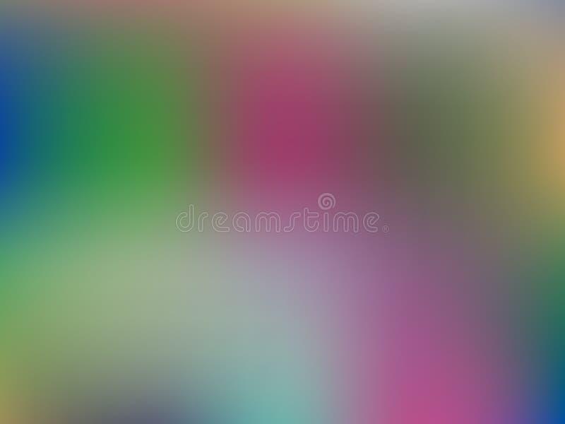 De abstracte achtergrond van het gradiëntnetwerk Vage heldere kleuren, kleurrijk regenboogpatroon Vector illustratie vector illustratie