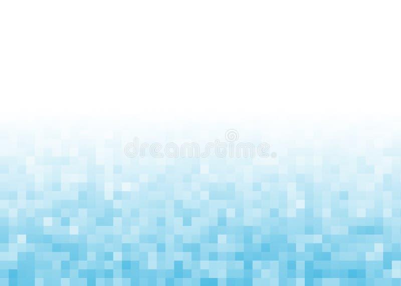 De abstracte achtergrond van het gradiëntpixel royalty-vrije illustratie