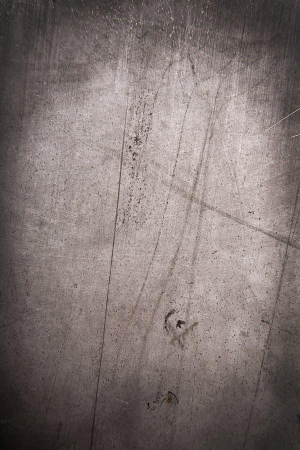 De abstracte achtergrond van het grungemetaal stock foto