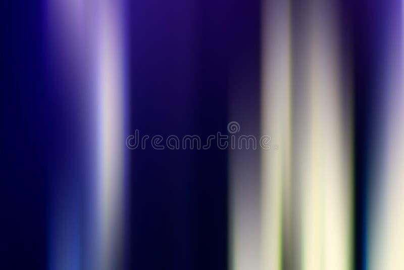De abstracte achtergrond van het motieonduidelijke beeld Gloeiende lijnen sc.i-FI royalty-vrije illustratie