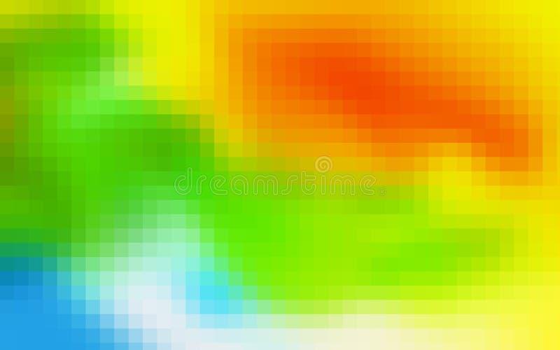 De abstracte achtergrond van het mozaïek stock foto