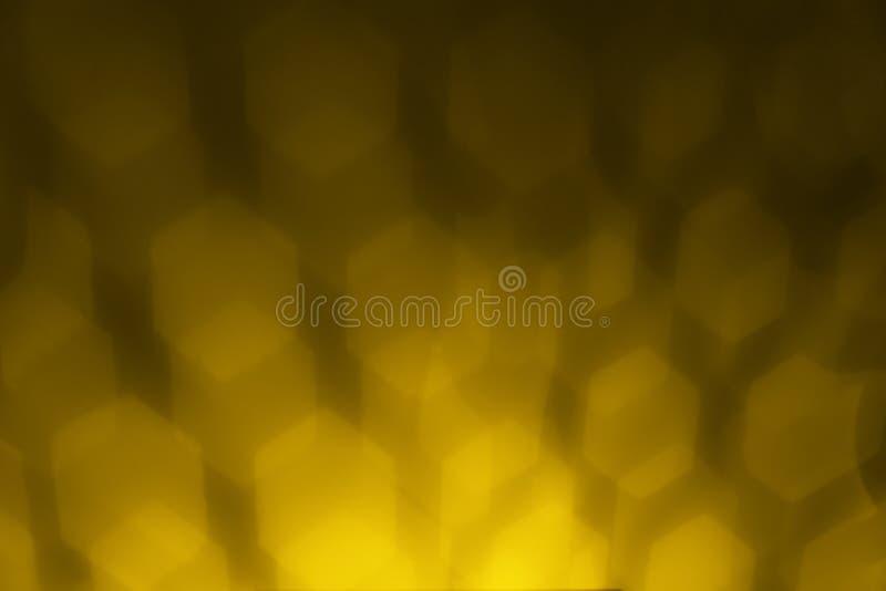De abstracte achtergrond van het ontwerpelement met een vervormd hexagonaal patroon royalty-vrije stock fotografie