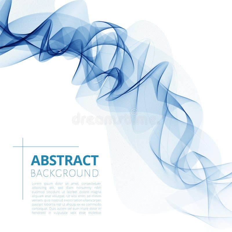 De abstracte achtergrond van de kleurengolf stock fotografie