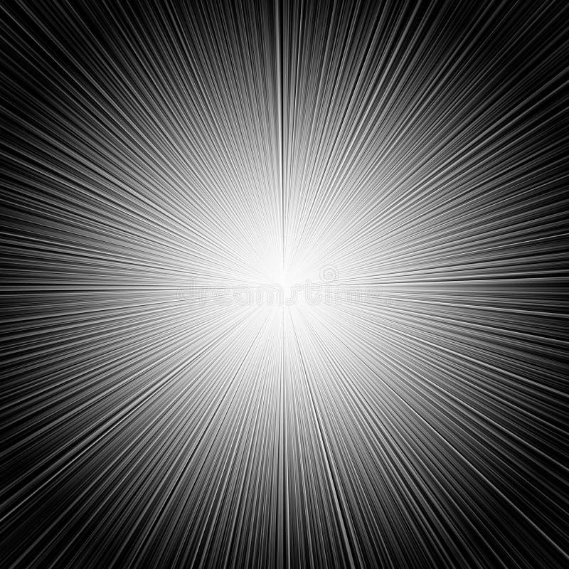 De Abstracte Achtergrond van stralen stock foto's