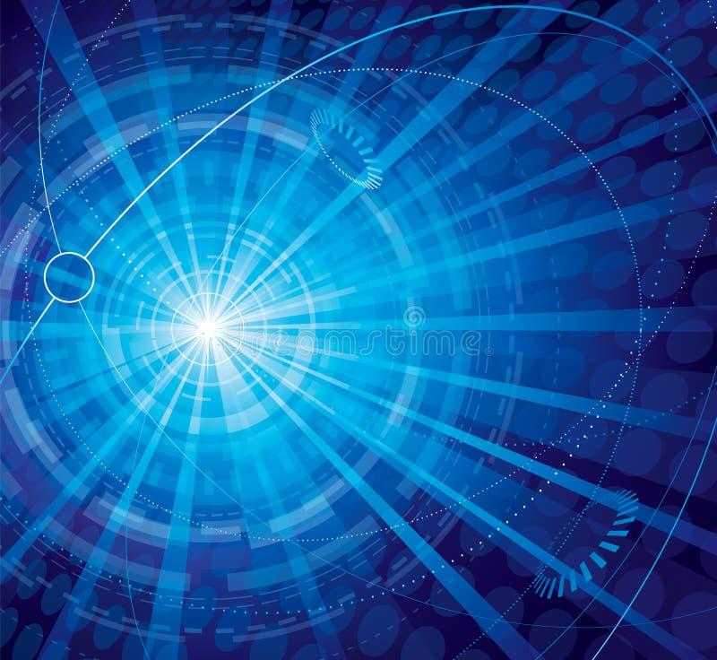 De abstracte Achtergrond van Technologie vector illustratie