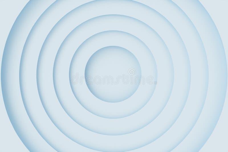 De abstracte achtergrond van de Witboekbesnoeiing, cirkelvorm Witte cirkels voor uw ontwerplay-out, presentatie, vlieger, banner vector illustratie