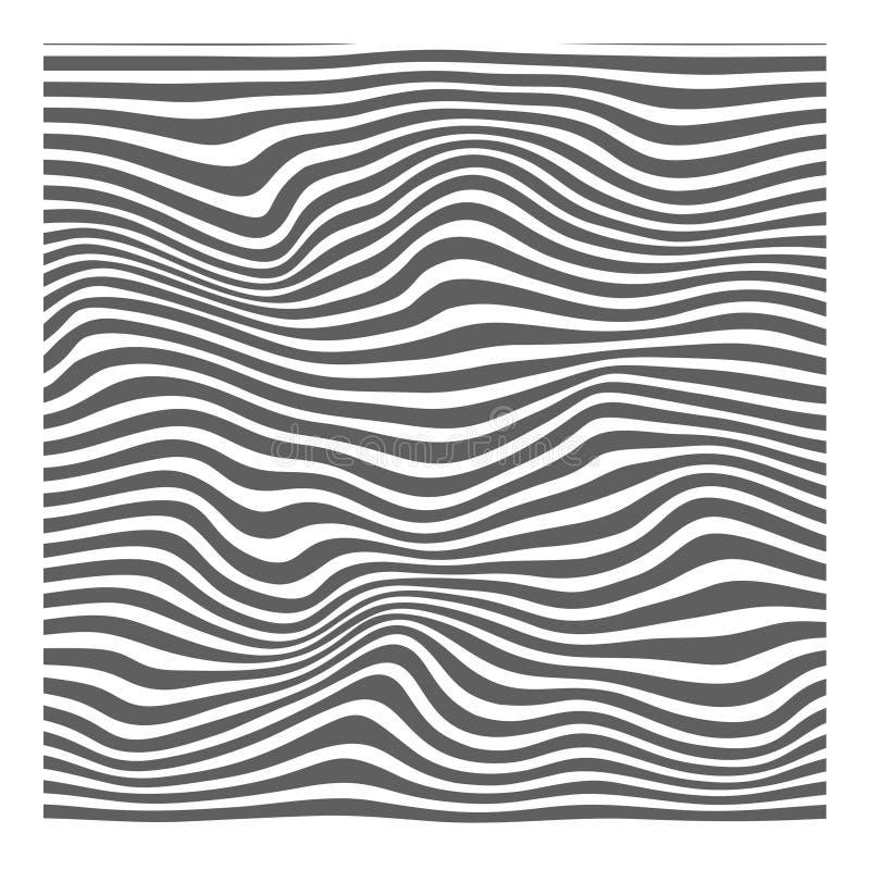 de abstracte achtergrond vectoreps10-02 van de lijncontour vector illustratie