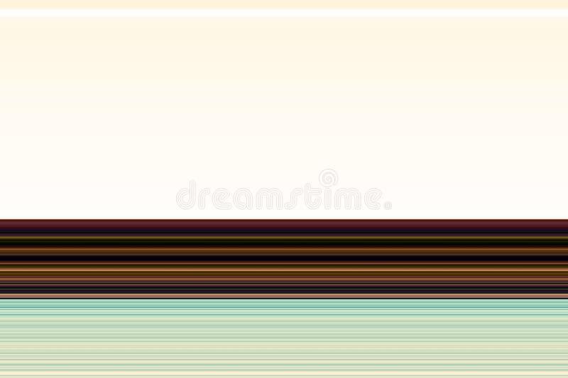 De abstracte blauwe gouden abstracte textuur van contrastlijnen vector illustratie