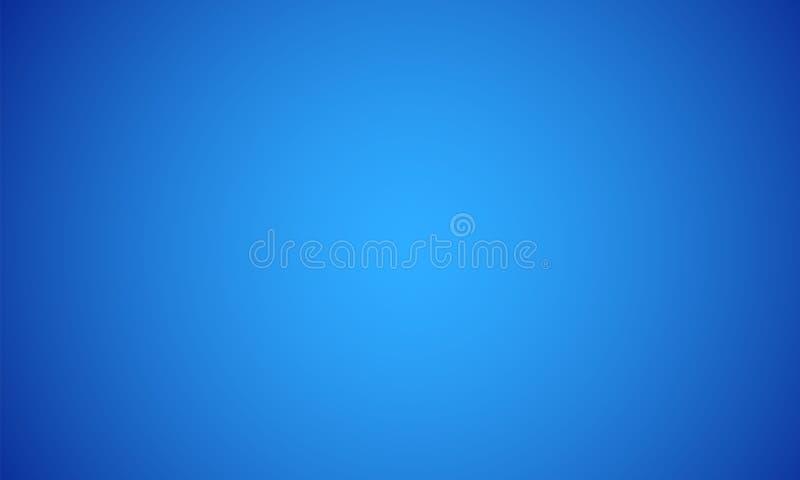 De abstracte blauwe heldere lichte achtergrond van de gradi?ntkleur Vector illustratie EPS10 stock illustratie