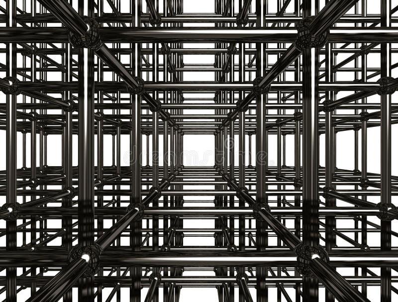 De abstracte Bouw van het Metaal royalty-vrije illustratie