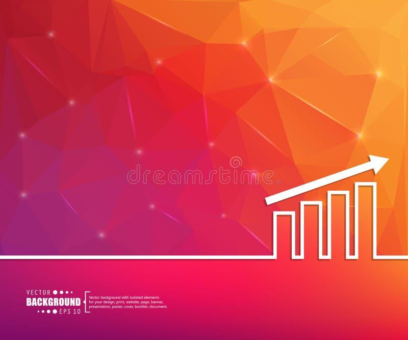 De abstracte creatieve concepten vectorlijn trekt achtergrond voor Web, mobiele app, het ontwerp van het illustratiemalplaatje, i stock illustratie