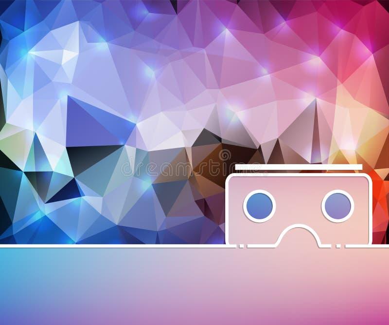 De abstracte creatieve conceptenlijn trekt achtergrond voor Web, mobiele toepassing, het ontwerp van het illustratiemalplaatje, i stock illustratie