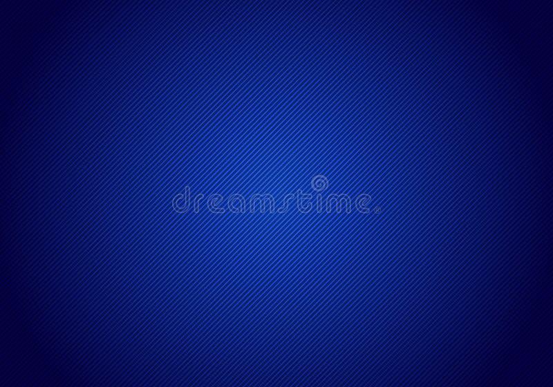 De abstracte diagonale achtergrond en de textuur van de lijnen gestreepte blauwe gradiënt voor uw zaken vector illustratie