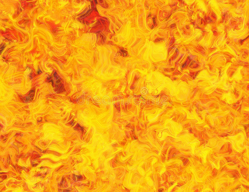 De abstracte dromerige achtergronden van brandlijnen stock illustratie
