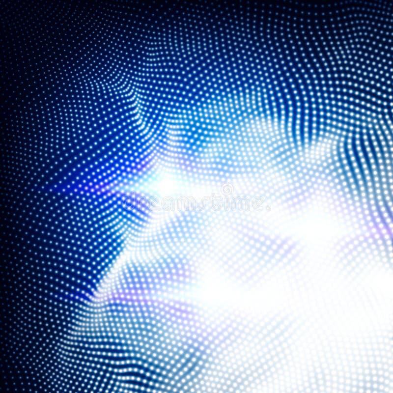 De abstracte Futuristische achtergrond van de Technologie royalty-vrije illustratie