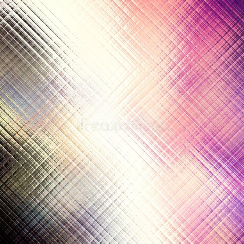 De abstracte futuristische achtergrond van het plaidonduidelijke beeld royalty-vrije illustratie