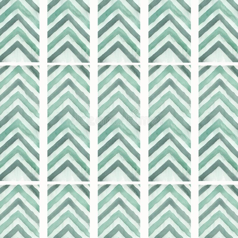 De abstracte geometrische achtergrond van het pijl naadloze patroon De textuur van de lijn Zigzagachtergrond Voor uw ontwerp Groe royalty-vrije illustratie