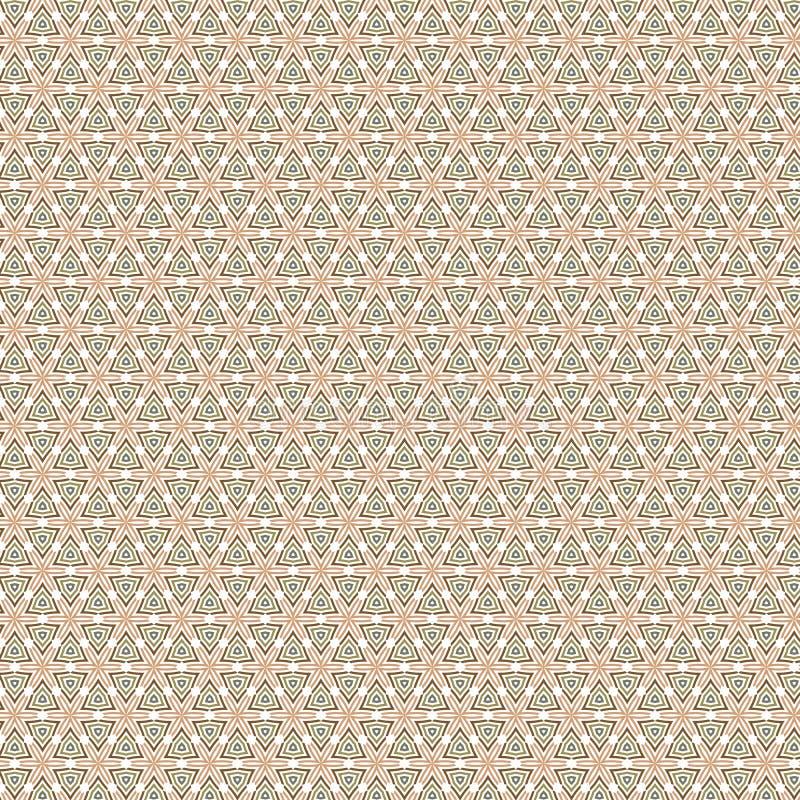 De abstracte Geometrische van de het Patroonstof van de Driehoeksplaid Achtergrond van het de Illustratie Naadloze Patroon royalty-vrije illustratie