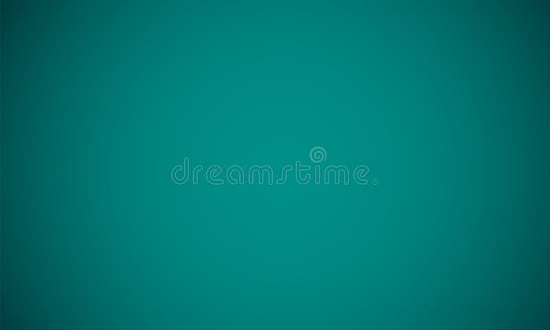 De abstracte groenachtig blauwe donkere lichte achtergrond van de gradiëntkleur Vector illustratie EPS10 royalty-vrije illustratie