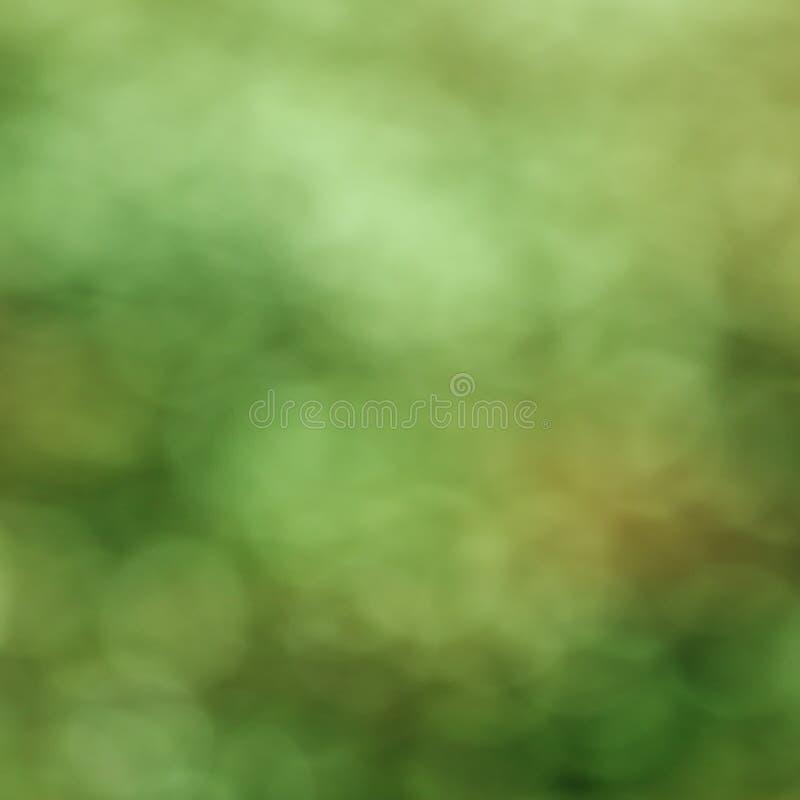 De abstracte groene achtergrond van de bokehlente stock fotografie