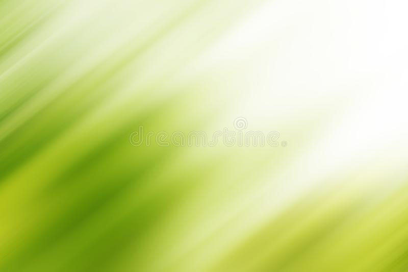 De abstracte groene achtergrond van het motieonduidelijke beeld met helder licht De verse achtergrond van de aard stock fotografie