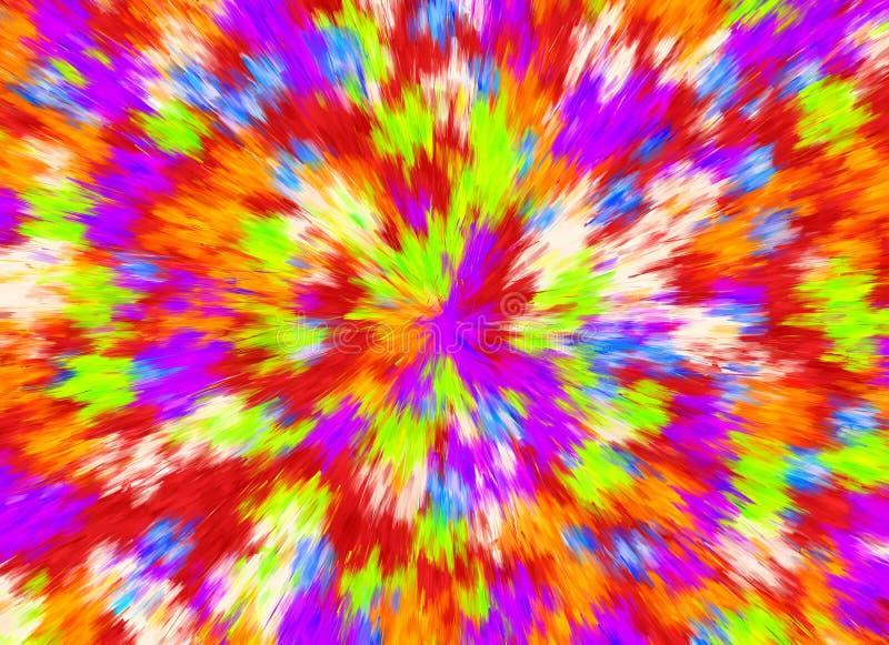 De abstracte Heldere Achtergronden van de Kleurenuitbarsting. Multicolored Patroon vector illustratie