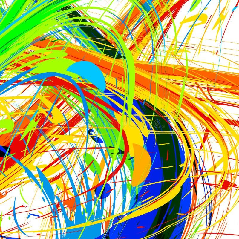 De abstracte kleur van Rio vector illustratie