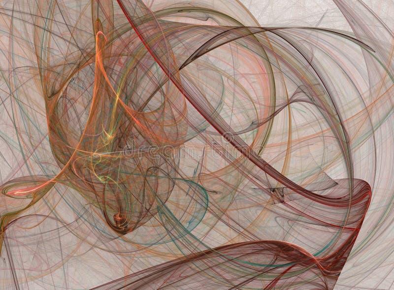 De abstracte kleurentextuur stock illustratie