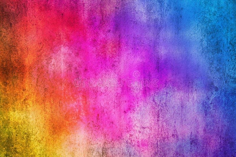De abstracte kleurrijke textuur en de achtergrond van de cementmuur stock foto's