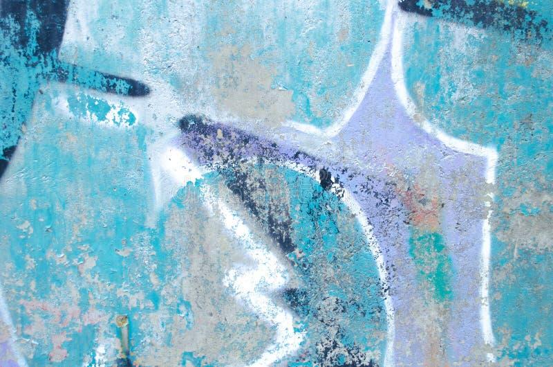 De abstracte kleurrijke textuur van de cementmuur Kan als prentbriefkaar worden gebruikt Oude muurachtergrond voor ontwerp royalty-vrije stock afbeelding