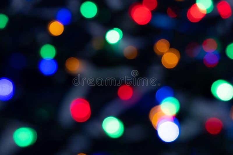 De abstracte Lichte mooie achtergrond van Bokeh royalty-vrije stock foto