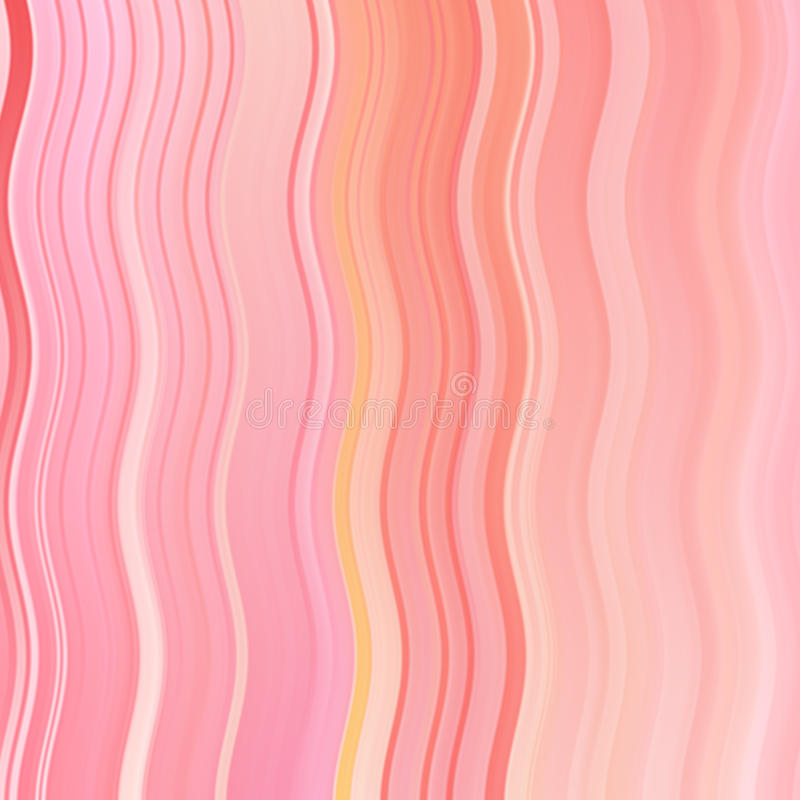 De abstracte lijn van de rode kleurengolf en streepachtergrond met van gradiënt kleurrijk lijnen en strepen patroon royalty-vrije illustratie