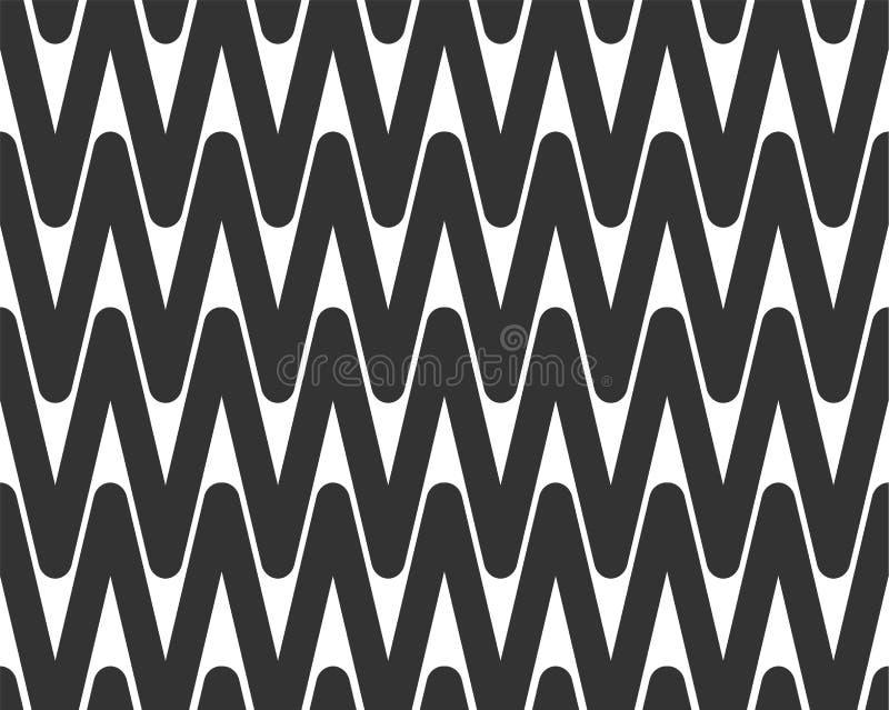 De abstracte naadloze textuur van de achtergrondontwerpdoek met geometrische elementen Creatief vector eindeloos stoffenpatroon m royalty-vrije illustratie