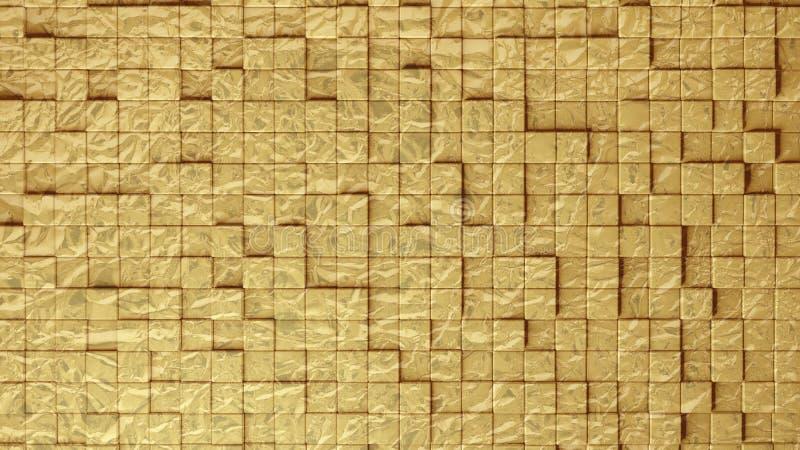 De abstracte naadloze textuur van plastic ceramische glastegels schoof en door:sturen om 3d volume terzijde te maken stock fotografie