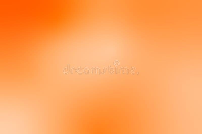 De abstracte oranje achtergrond van de gradiëntillustratie - Vector vector illustratie