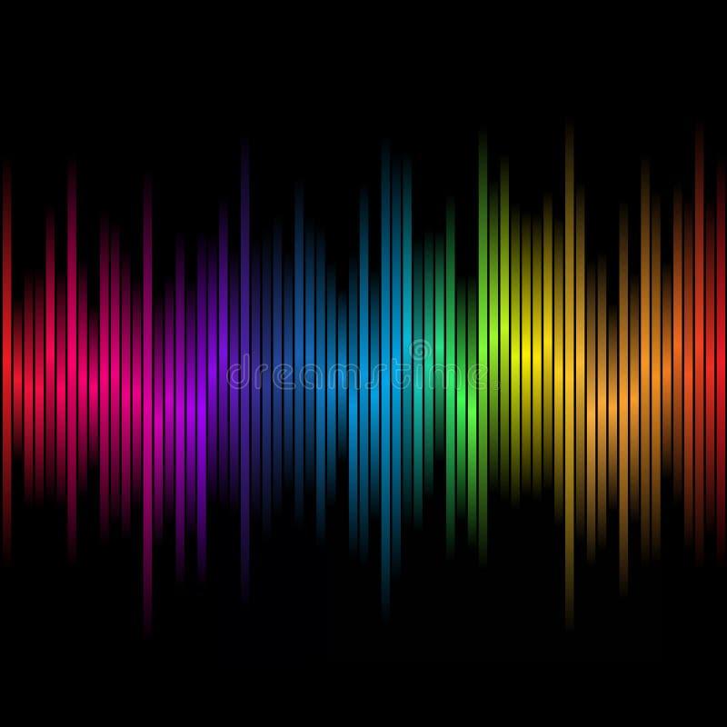 De abstracte regenboog kleurt 2